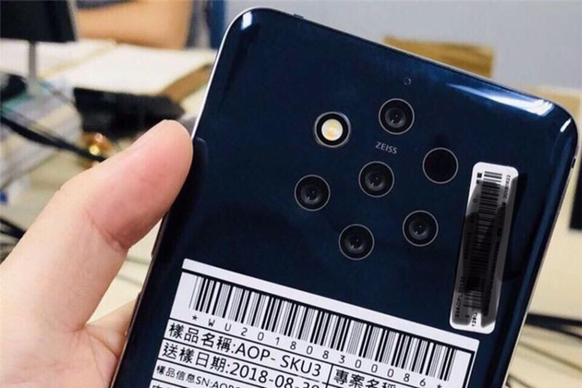 HMD Appears To Be Working On An Impressive Camera Array For A Future Android Powered Nokia Handset Leaked Design Sketches And Images Hint That We Could