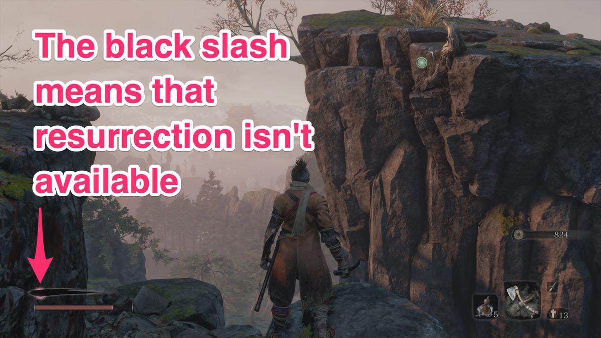 Sekiro resurrection black slash