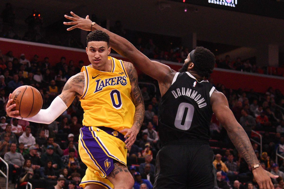 Kyle Kuzma is trying to use remainder of season to improve as passer for the Lakers