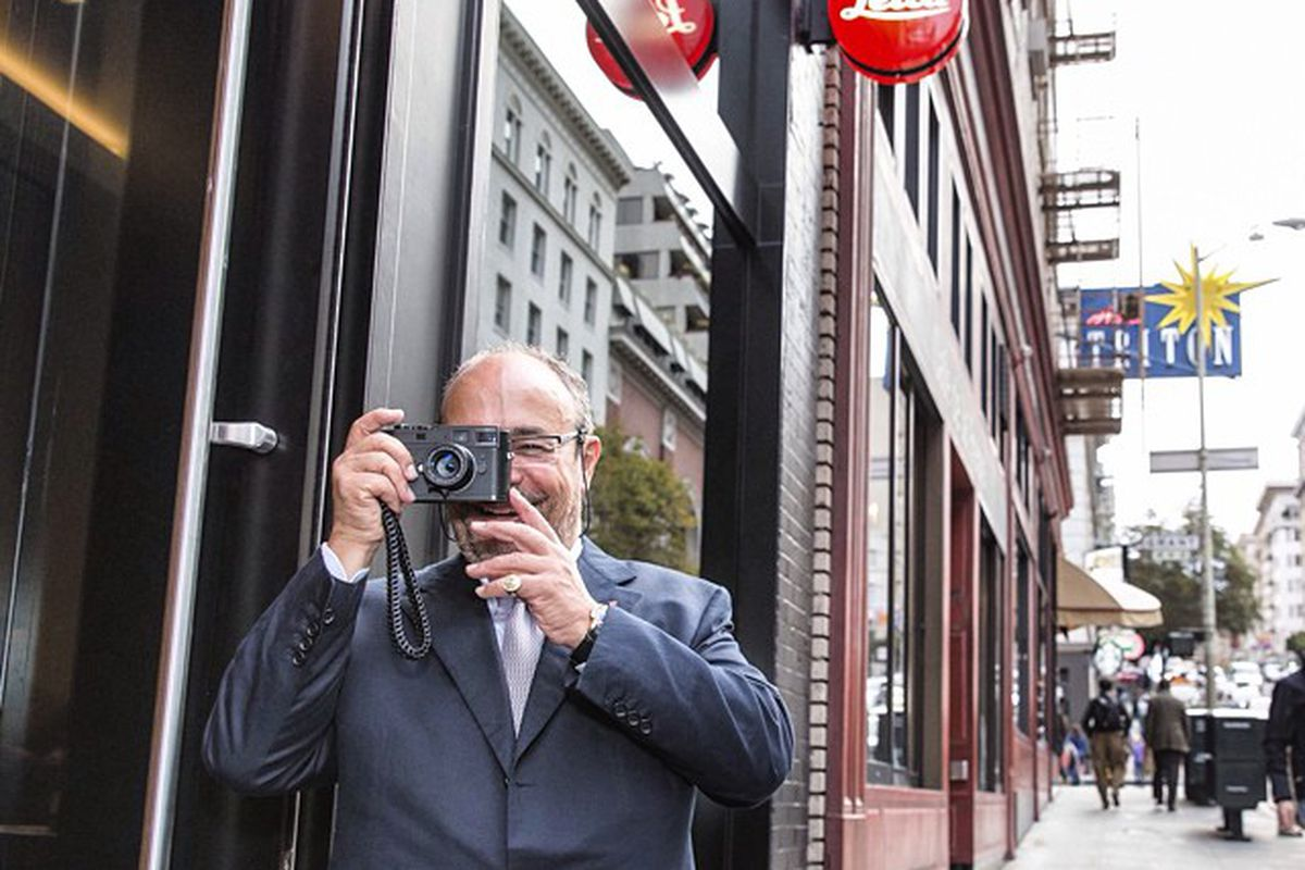 """The store on Bush Street is open to shop; photo via Leica Store SF/<a href=""""http://instagram.com/leicastoresf"""">Instagram</a>"""
