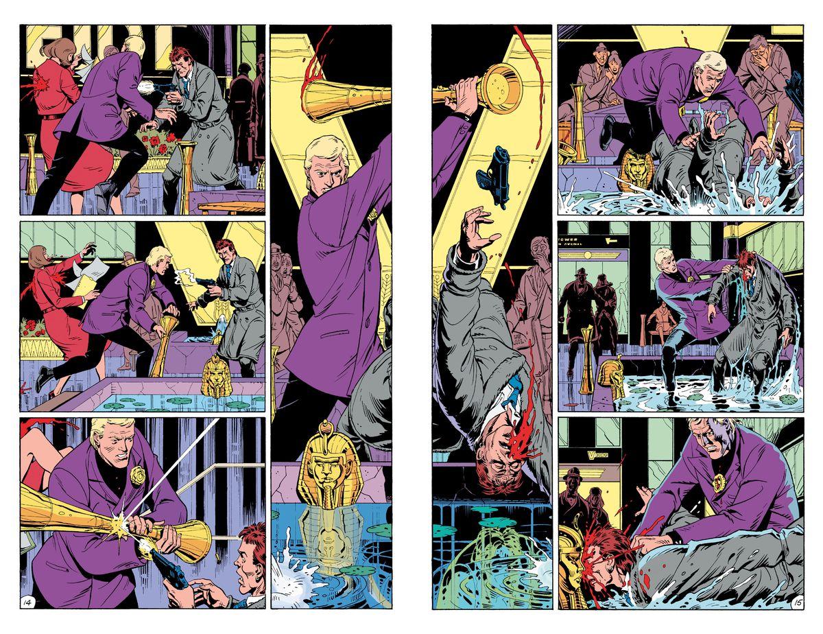 Znalezione obrazy dla zapytania watchmen comic
