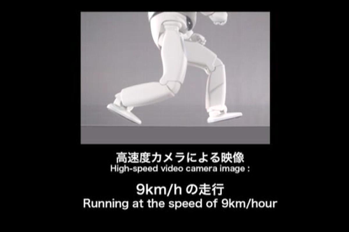 Asimo running