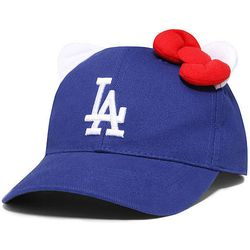 Hello Kitty x Dodgers hat, $33.99. All images via Sanrio