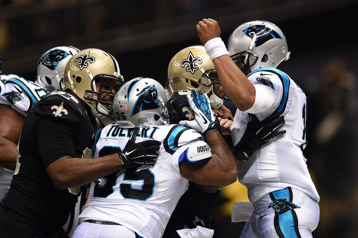 1c014f17 Saints vs Panthers Series History: A Literal Fight to the Finish ...