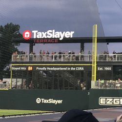 """What is a """"Slayed Hit""""? I was told it was all Augusta home runs at home count as slayed hits, but the count isn't right. When this was taken, the GreenJackets had 10 home runs at home. -5"""
