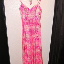 <b>Amanda Uprichard</b> Hibiscus Silk Printed Maxi Dress, $288
