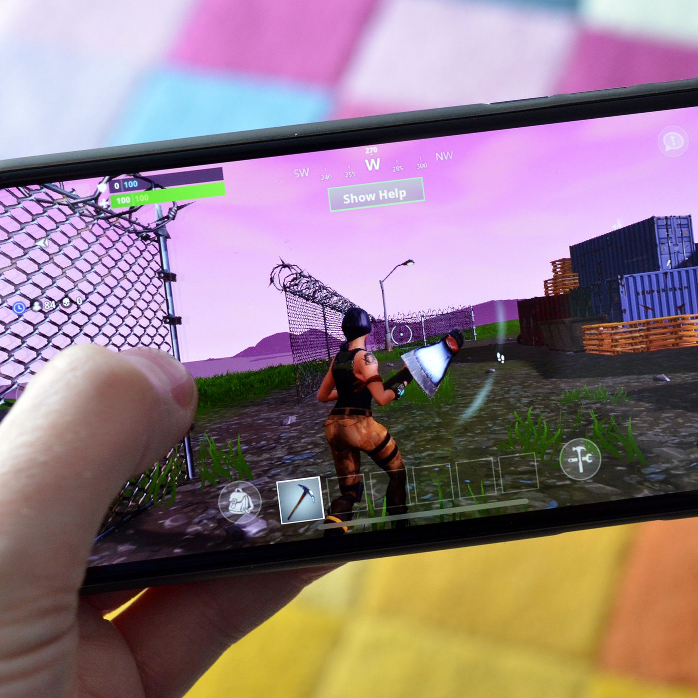 Fortnite is now open to everyone on iOS - The Verge
