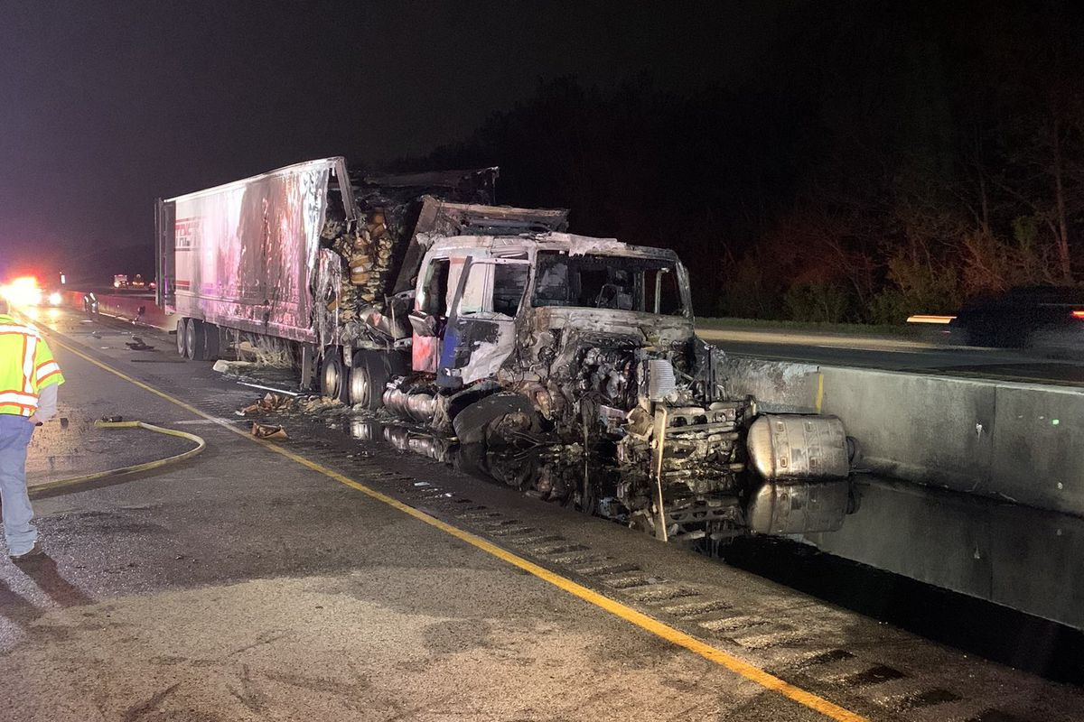 One person was killed in a crash May 22, 2020, on eastbound I-94 in Portage, Indiana.