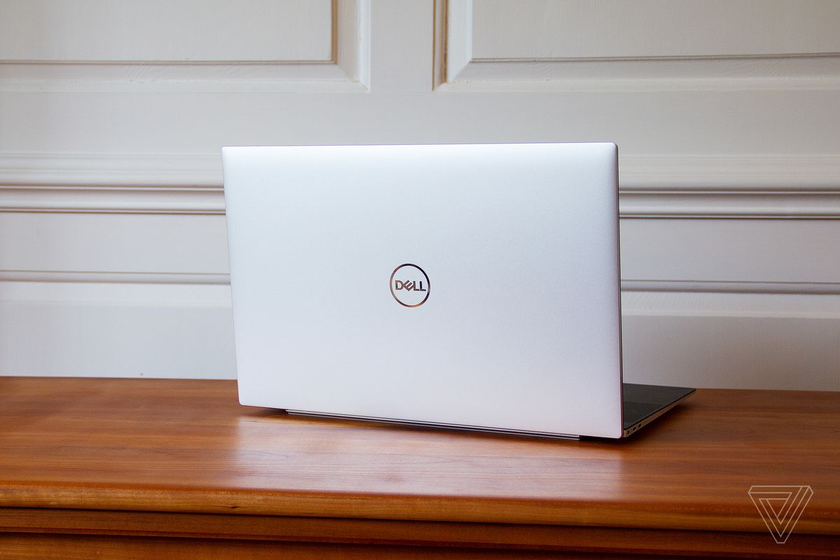 The Dell XPS 17 lid.