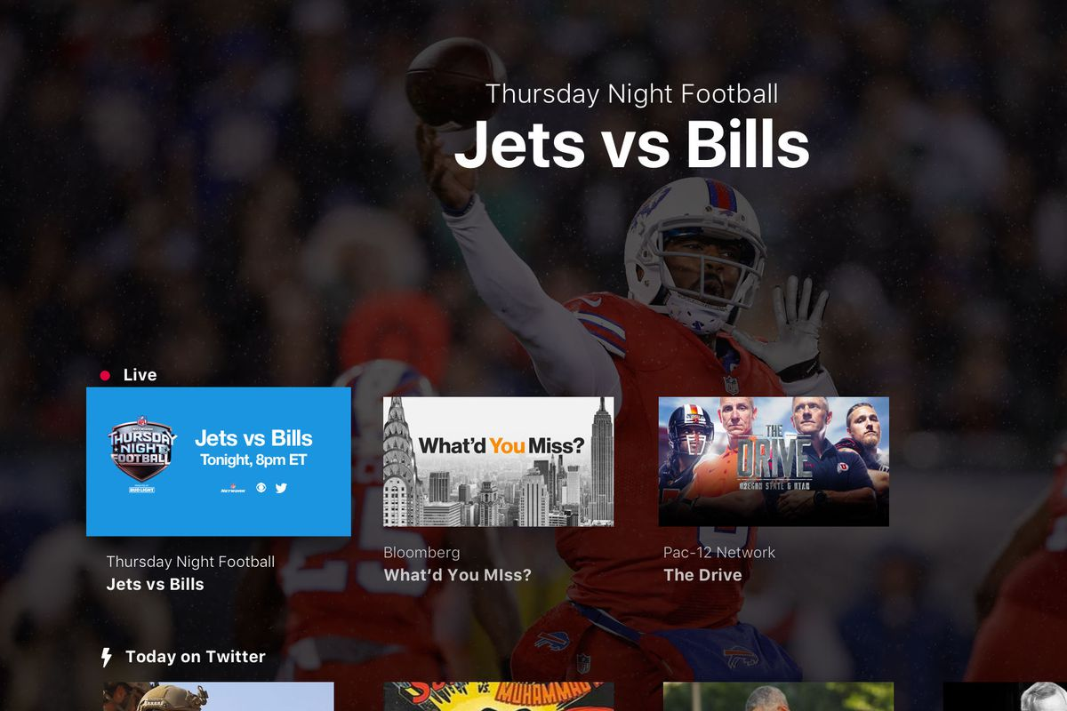 Twitter's Apple TV app is ready, one day before Twitter