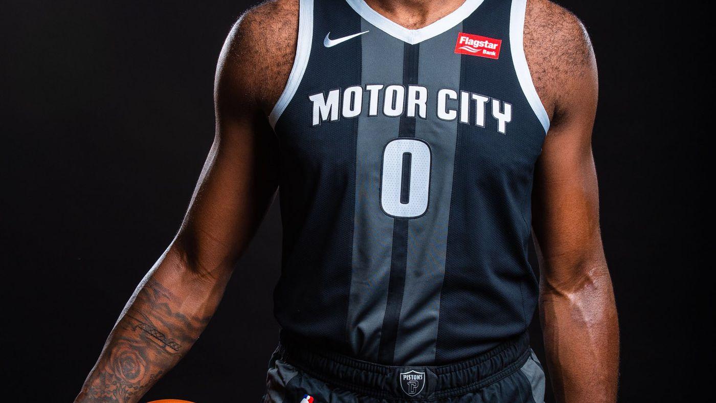 sale retailer f03a6 abbe9 Detroit Pistons unveil newest Nike Motor City Jerseys ...