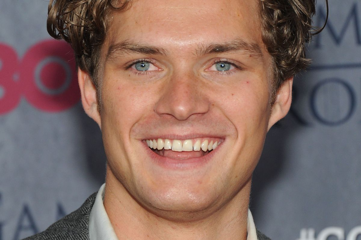 Actor Finn Jones attends the Game Of Thrones season 4 New York premiere at Avery Fisher Hall, Lincoln Center, on March 18, 2014, in New York City.