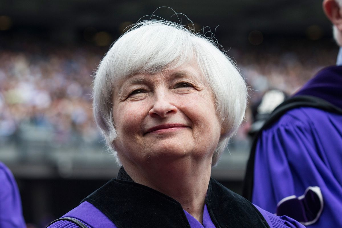 As part of her mission to keep the economy running strong, Janet Yellen has to make sure your paycheck doesn't get too big.