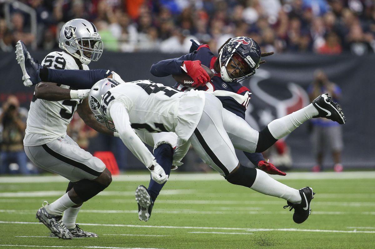 NFL: Oakland Raiders at Houston Texans