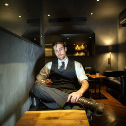 """<a href=""""http://ny.eater.com/archives/2013/04/brandon_duff_barkeepers.php"""">The Barkeepers: Brandon Duff of Atera</a>"""