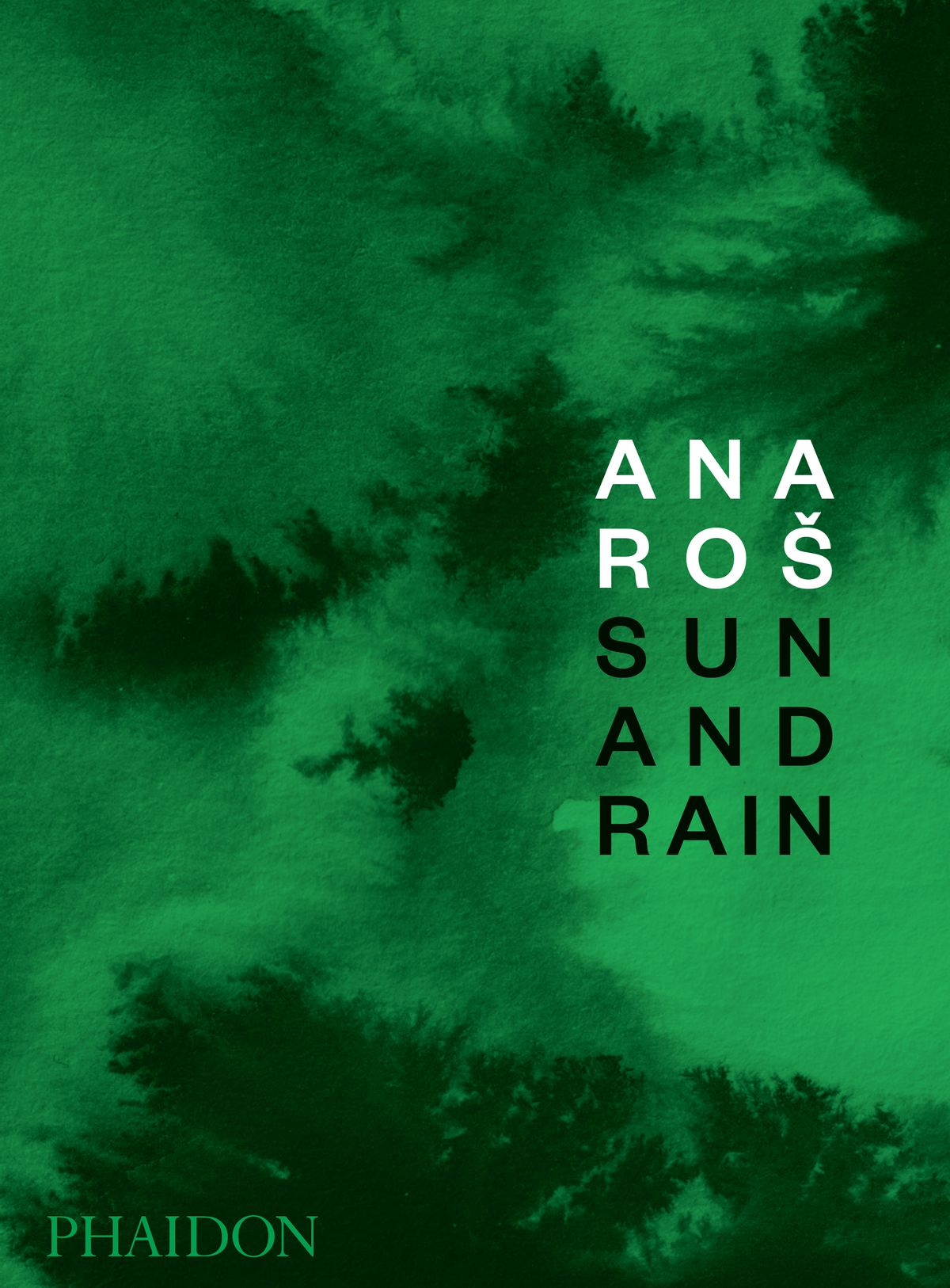 The book cover for Ana Ros: Sun and rain