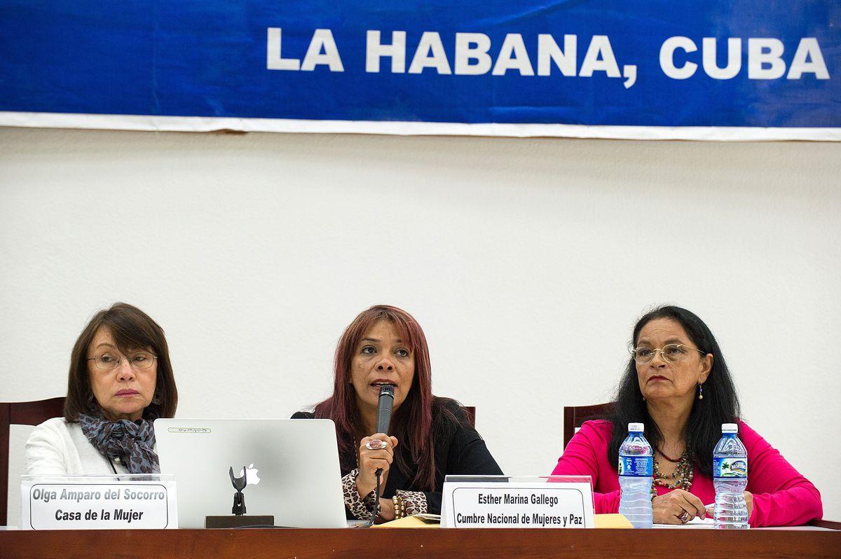 farc peace talk Cuba