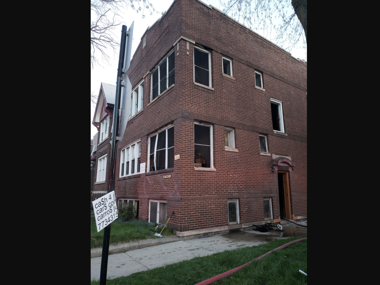 Two people were critically hurt in a fire April 16, 2021 in Back of the Yards.