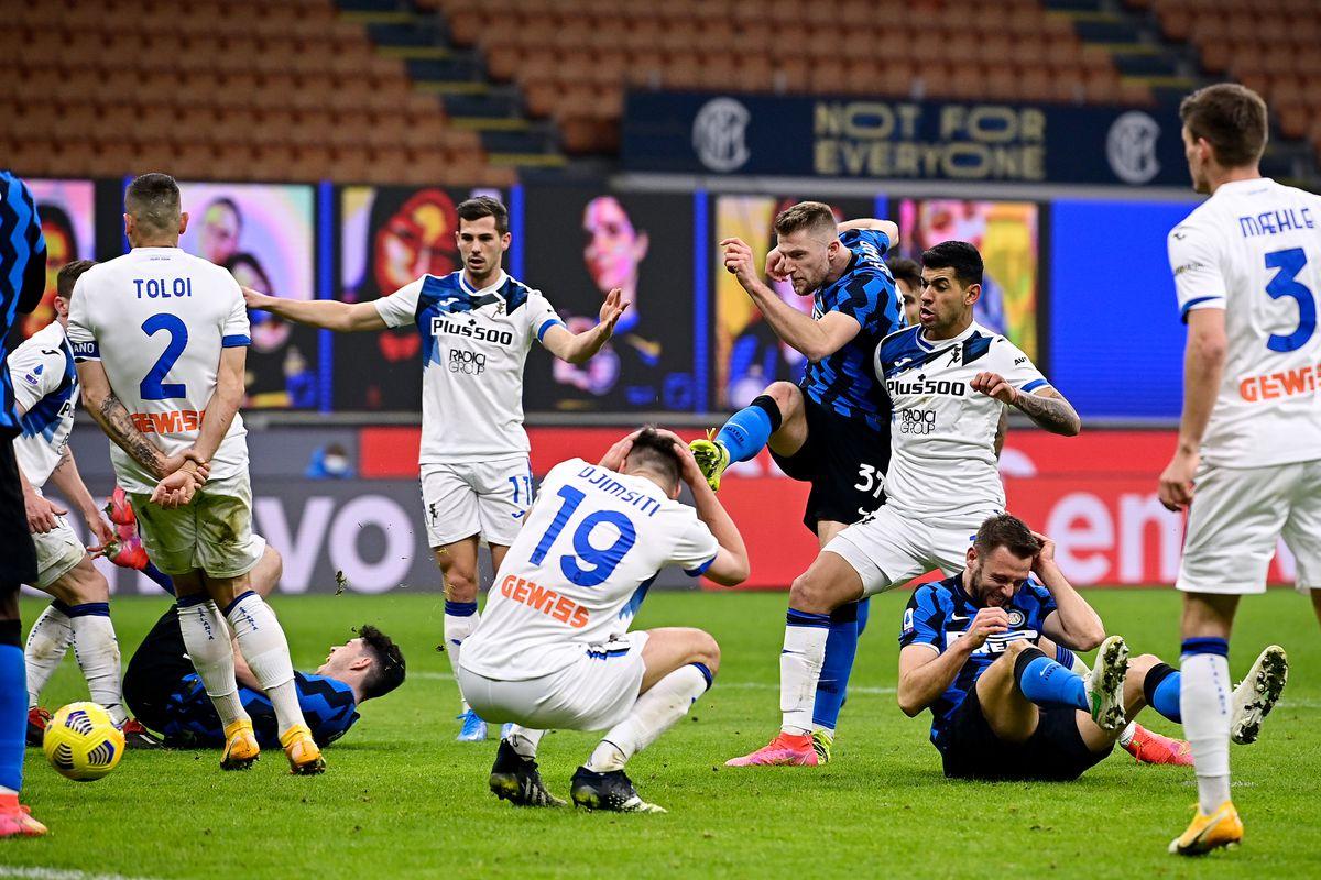 Internazionale v Atalanta Bergamo - Italian Serie A