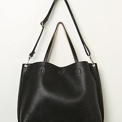 """Free People slouchy vegan tote, <a href=""""http://www.freepeople.com/accessories-bags/slouchy-vegan-tote/_/PRODUCTOPTIONIDS/0B6E9CAD-A8F4-4CCF-8A37-466219F4EA95/"""">$68</a>"""