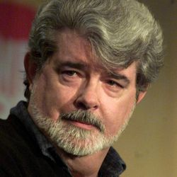 Star Wars creator George Lucas in this March 3, 2001 file photo.