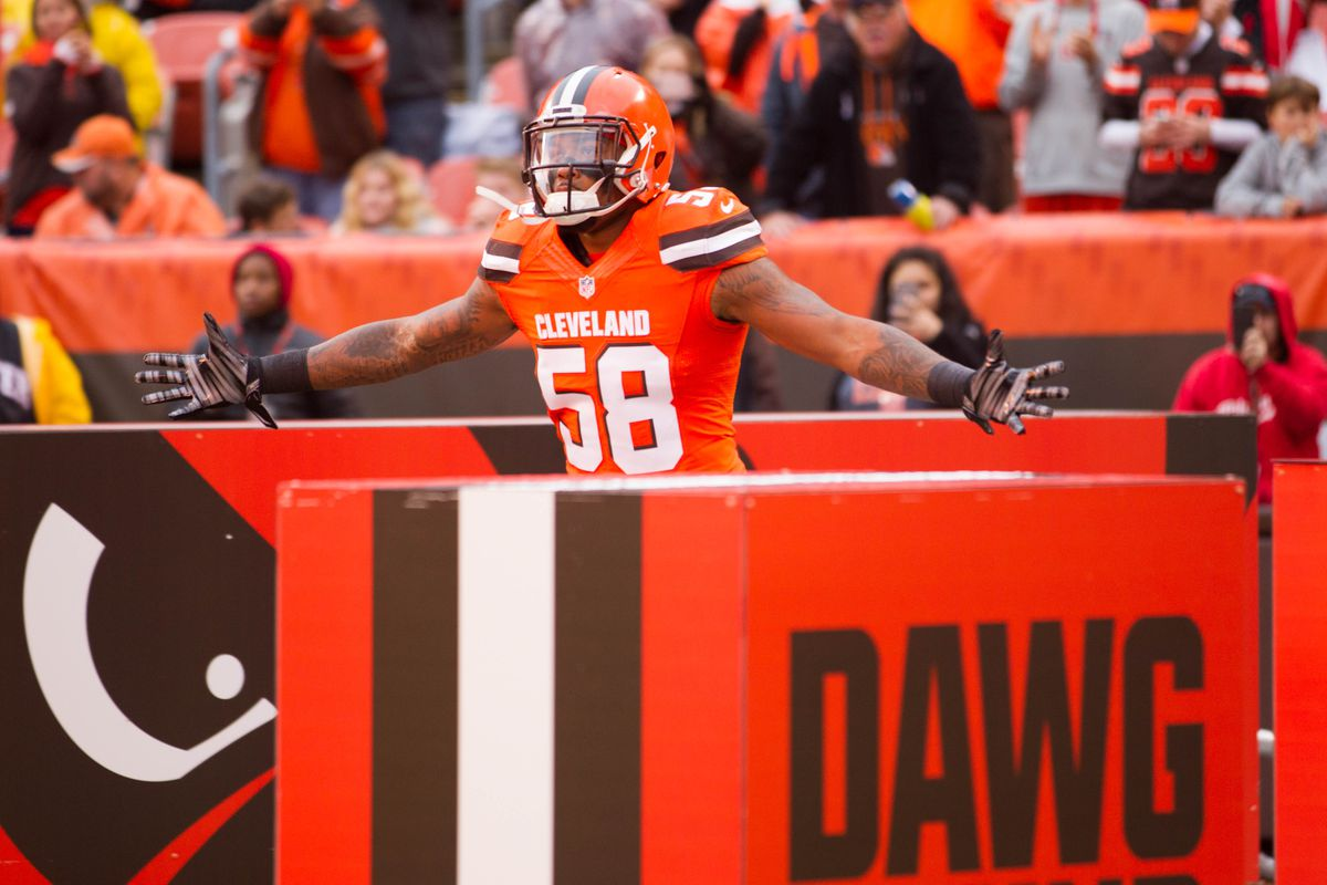 Browns linebacker Christian Kirksey signs 4-year extension