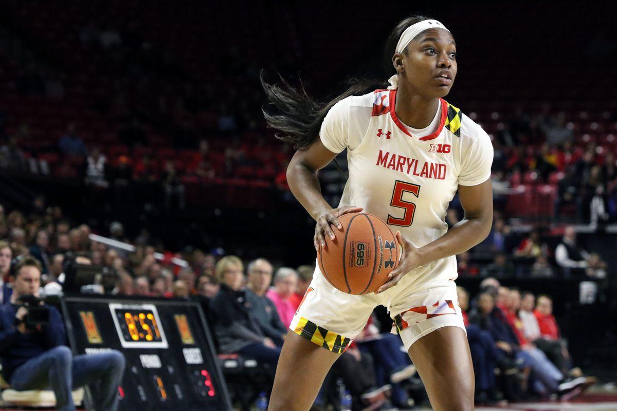 Maryland women's basketball Kaila Charles vs. Illinois