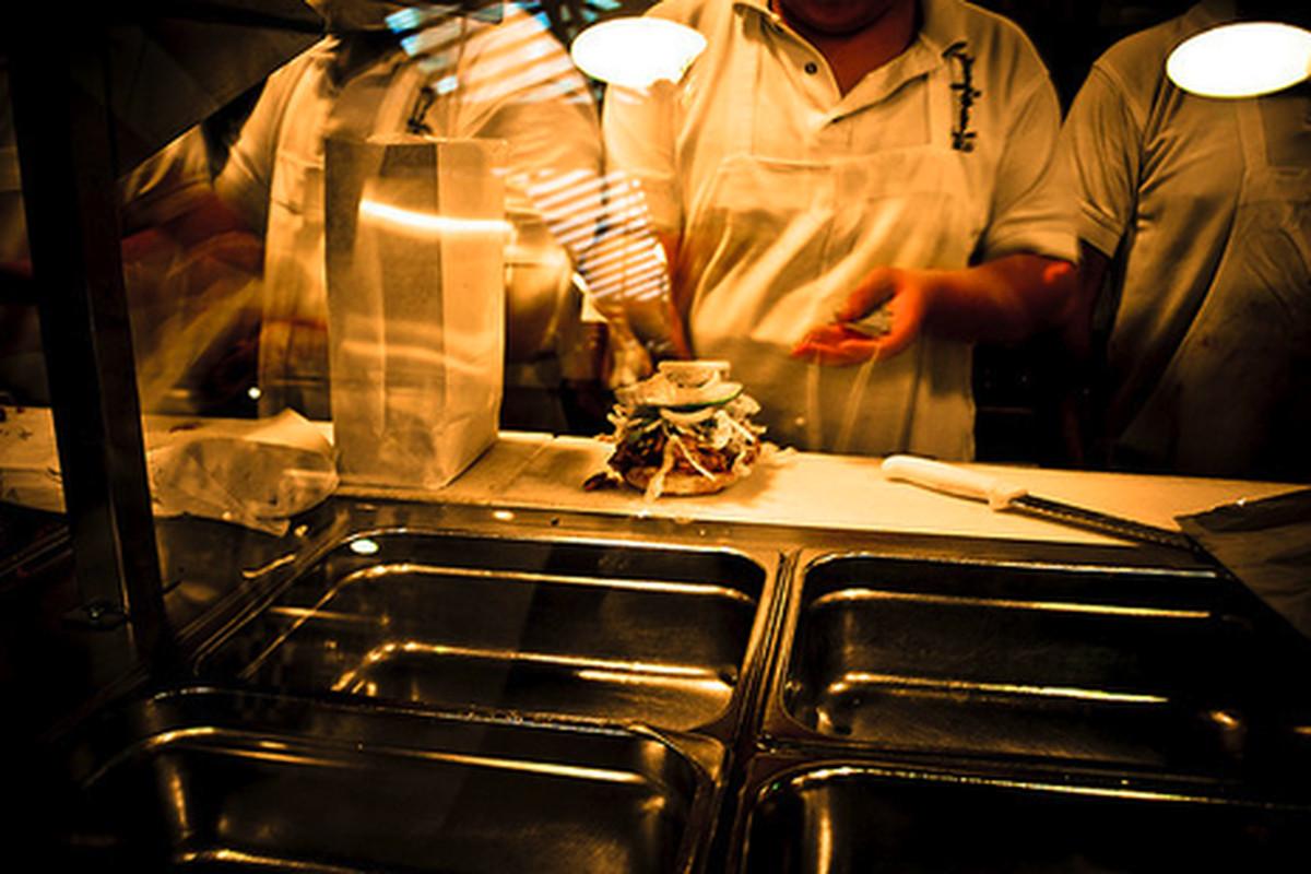 Tacos Tumbras a Tomas, Downtown.