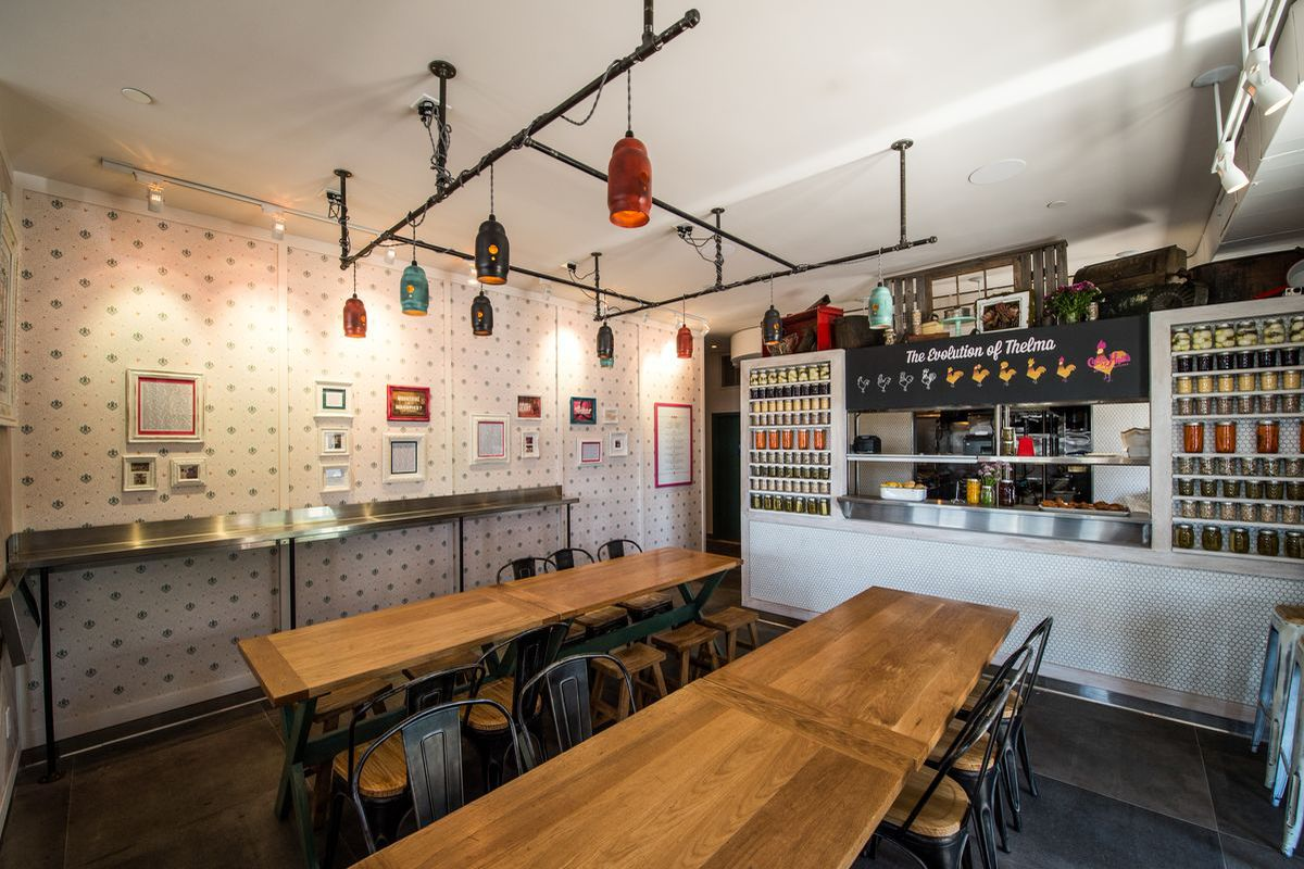 Peppery Pete Feels the Burn at Carla Hall\'s Southern Kitchen ...