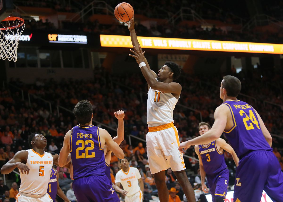NCAA Basketball: Lipscomb at Tennessee