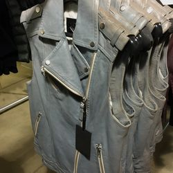 Frederica vest, $150 (was $490)