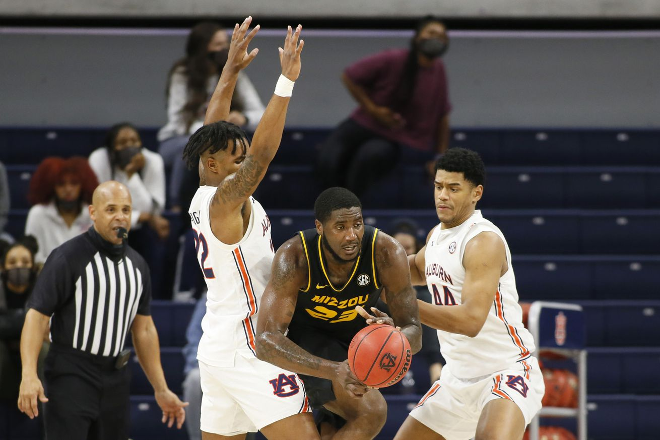 NCAA Basketball: Missouri at Auburn