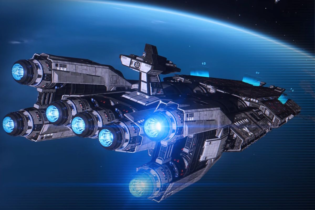 Elite Dangerous Halloween 2020 Elite: Dangerous adds Fleet Carriers, with players staged for a