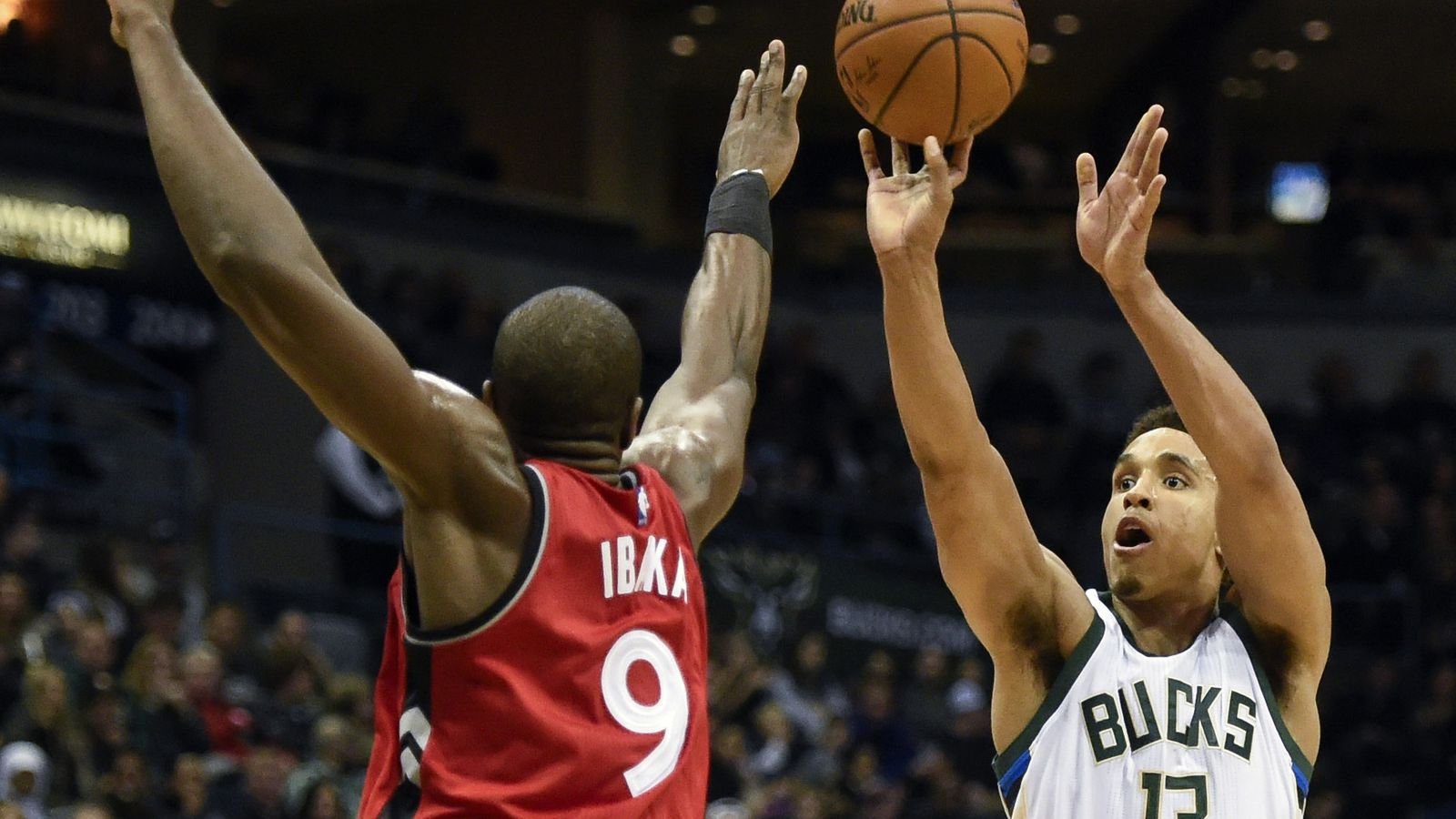 bucks vs raptors - HD 1600×900