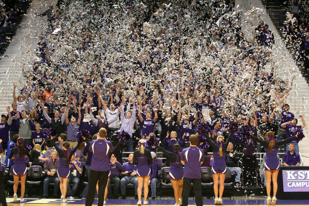 The K-State Women have reason to celebrate after knocking off No. 13 Iowa State.