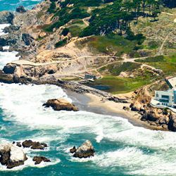 """For ocean views and a jagged terrain, plan a day at Lands End. The National Park Service recommends starting your trip at Lands End Lookout (680 Point Lobos Avenue), and has a <a href=""""http://www.nps.gov/goga/planyourvisit/upload/LE_Pad_Map_5-12c.pdf"""">pri"""