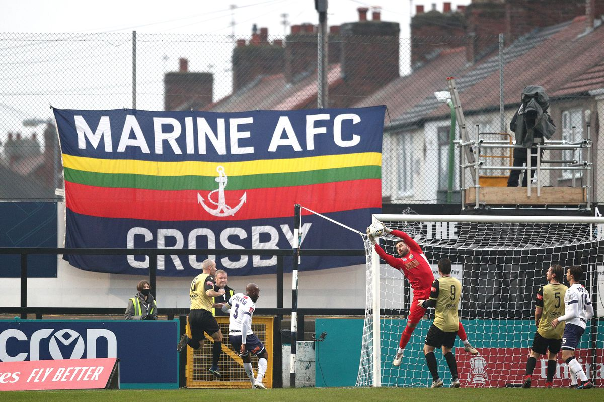 Marine v Havant And Waterlooville - FA Cup Second Round