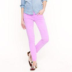 "<b>J.Crew</b> Ankle Stretch Toothpick Jean in garment-dyed twill, <a href=""http://www.jcrew.com/womens_category/denim/toothpick/PRDOVR~62443/62443.jsp"">$125</a>"