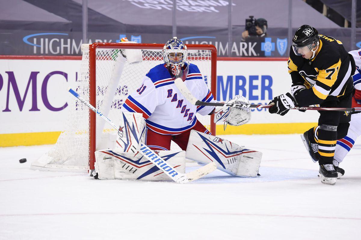 NHL: JAN 22 Rangers at Penguins