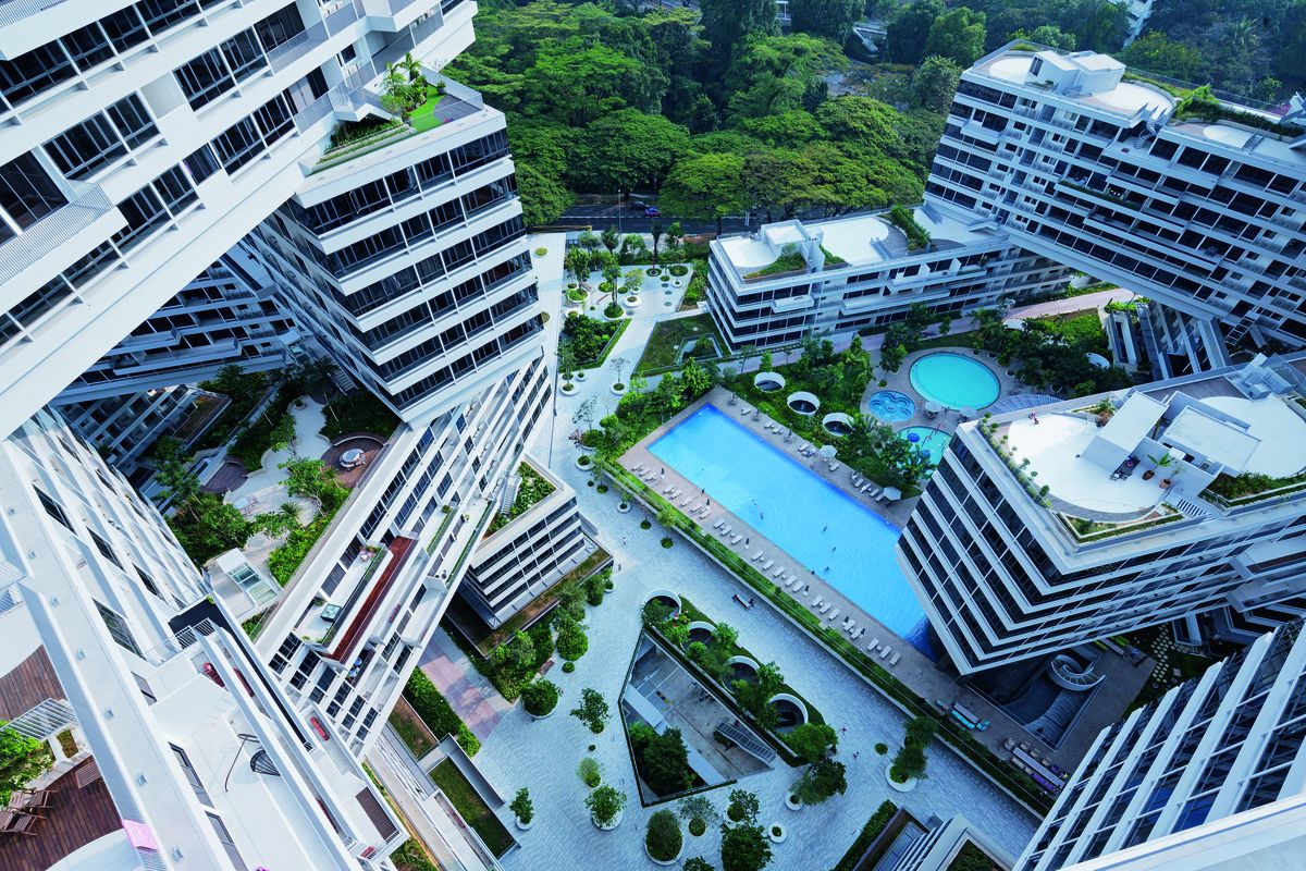 The Interlace in Singapore