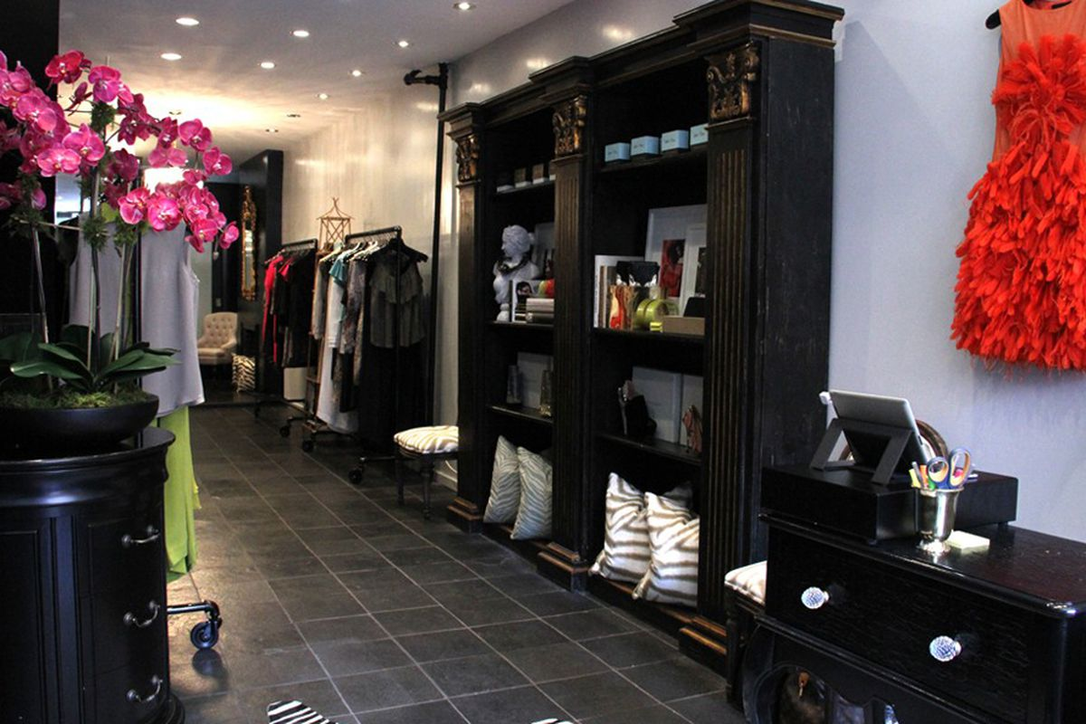 "Image via <a href=""http://www.wwd.com/retail-news/designer-luxury/christian-siriano-sets-up-first-shop-6124971"">Women's Wear Daily</a>"