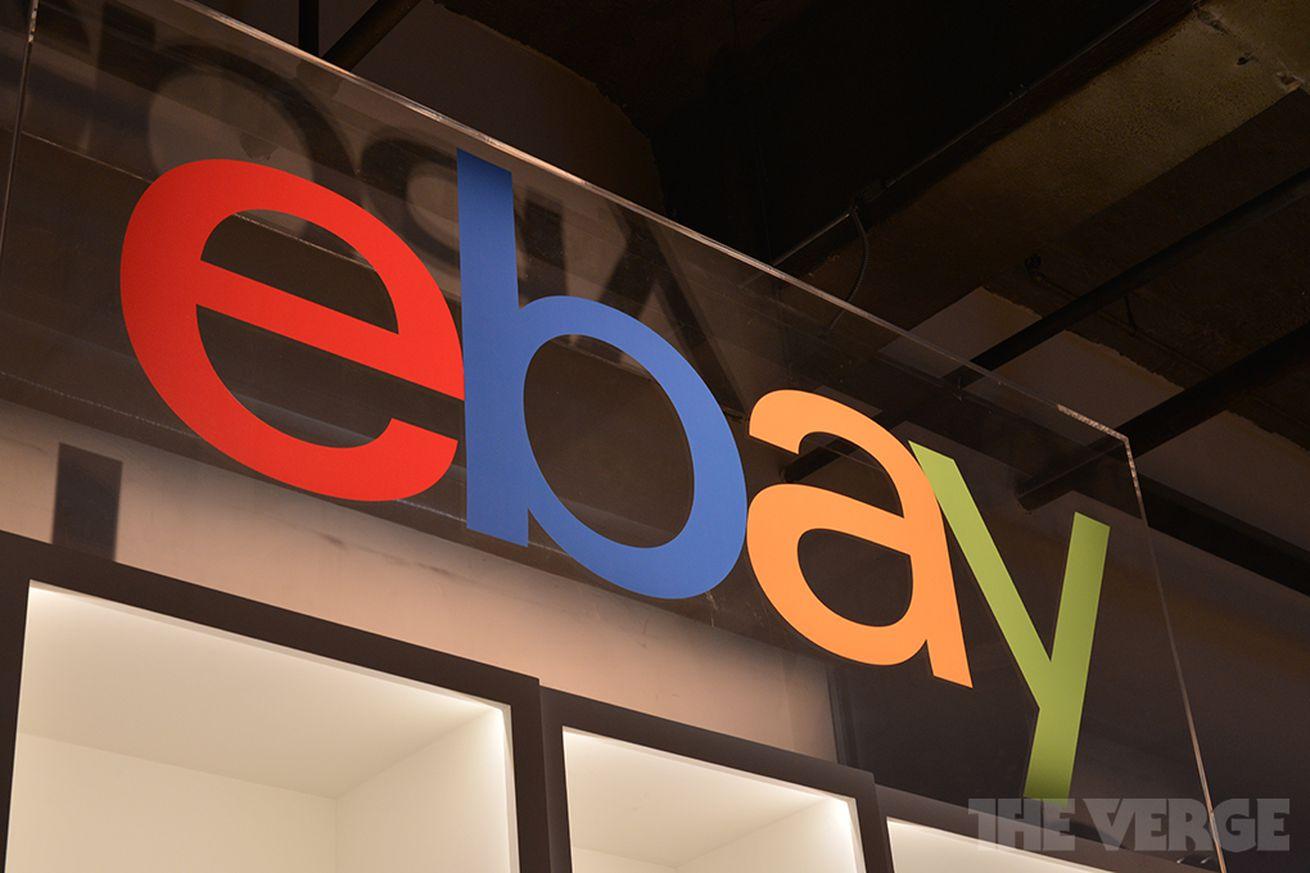 eBay new logo STOCK