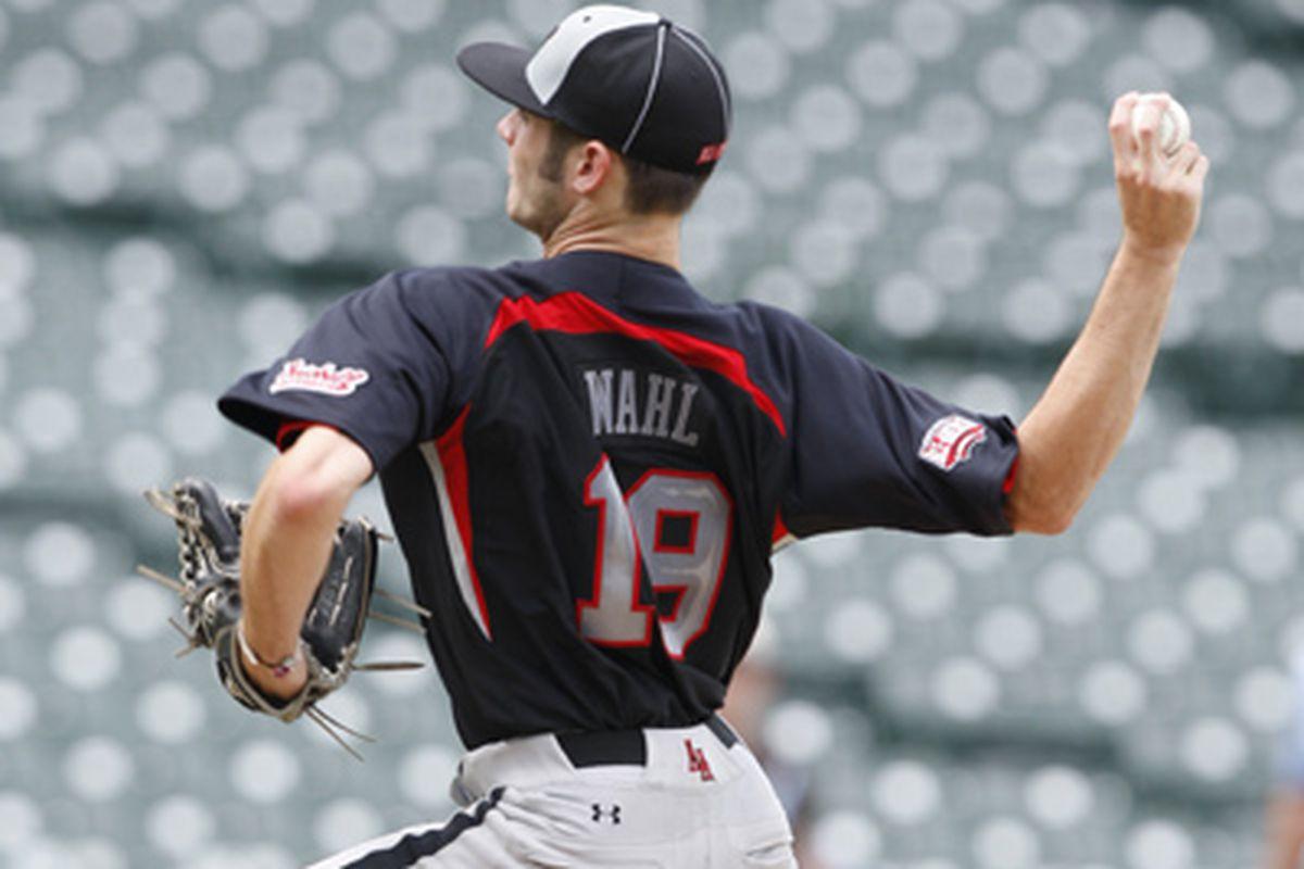 """via <a href=""""http://baseballfactory.com/images/400x300Stills/BobbyWahlStillBig.jpg"""">baseballfactory.com</a>"""