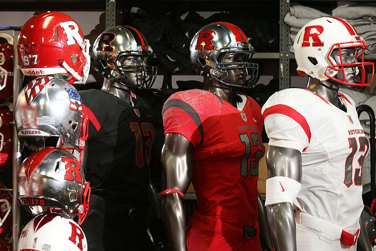 e8ef7a0bb Friday Fives  Best Rutgers Football Uniforms - On the Banks