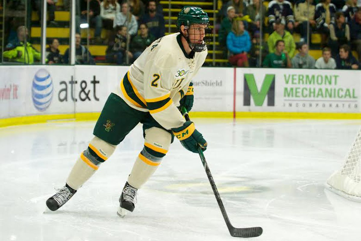 Vermont junior Michael Paliotta is having a homecoming of sorts this weekend.