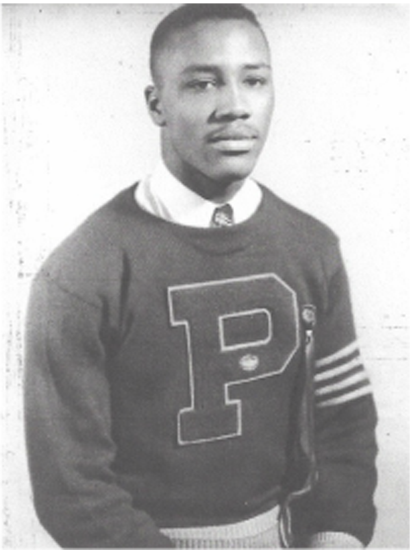 Sherman Howard in his days at Phillips High School.