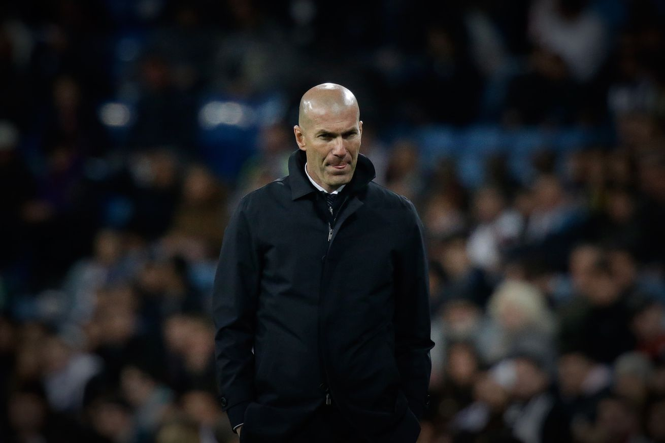 Zidane: ?I have not decided who will stay?