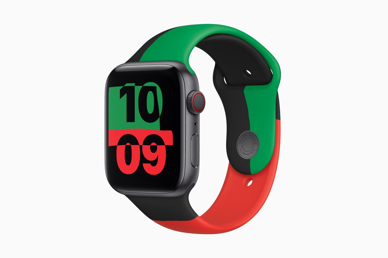 Apple launches limited-edition 'Black Unity Collection' Apple Watch