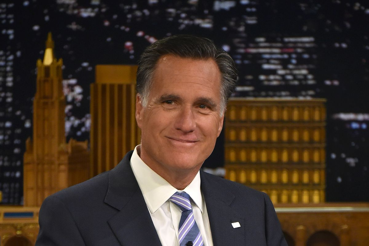 Romney might have just been trolling Trump — but Thursday night's debate moderators took it seriously.