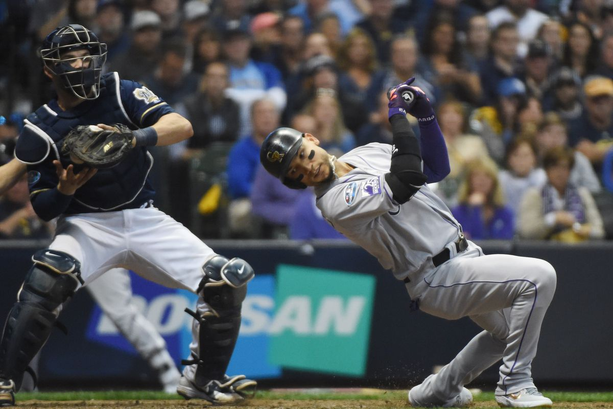 MLB: NLDS-Colorado Rockies at Milwaukee Brewers